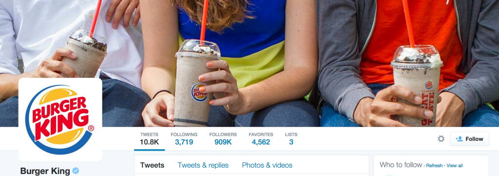 beginners guide to twitter burger king