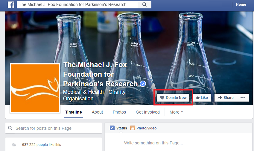 Facebook for fundraising